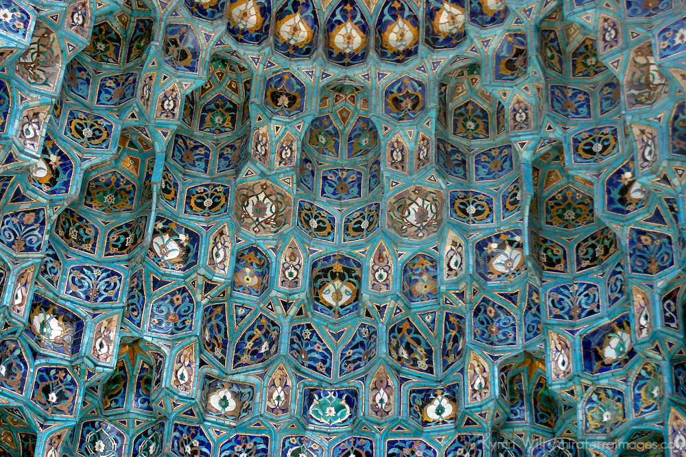 Europe, Russia, St. Petersburg. Detail of Islamic mosque architecture.