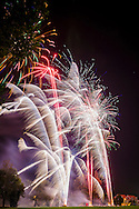 Basildon Firework Display at Holy Cross Recreation Park, Basildon, Essex - 05-11-2014.