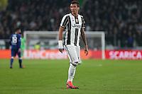 Torino - Champions League -  Juventus-Lione - Nella foto: Mario Mandzukic - Juventus