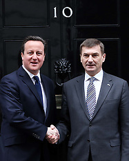JAN 21 2013 Prime Minister of Estonia in Downing St.
