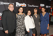 16 September : New York, NY- l to r: Armando Correa,  People en Español Managing Editor; Doris Casap, HBO Executive; Lisa Quiroz, Time Warner Corporate Executive; Lucinda Martinez, HBO Executive; Jackie Gagne, HBO Executive at the HBO Latino screening of ' The Latino List  'on September 16, 2011 held at El Museo Del Barrio in New York City. Photo Credit: Terrence Jennings