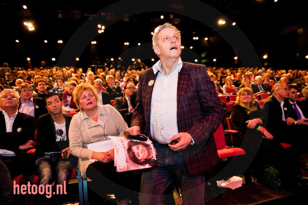 nedrland,utrecht 05feb2011Tof Thissen is op het partijcongres van groenlinks gekozen tot fractievoorzitter voor de eerste kamer