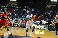 Ole Miss' Nick Williams (20) vs. Dayton in Oxford, Miss. on Saturday, November 20, 2010. Dayton won in overtime.