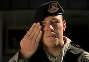 Staff Sgt.Matt Medor, 437th Security Forces, poses for a portrait at Charleston Charleston Air Force Base, S.C., on Oct. 30, 2008.