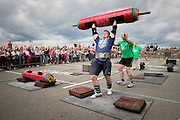 31-7-16<br /> <br /> Gavin Redmond from Wexford pictured taking part in the Hook Lighthouse, Hook Strongman Challenge 2016 in Wexford in aid go Fight Motor Neurone Disease, www.imnda.ie.<br /> <br /> Picture Dylan Vaughan