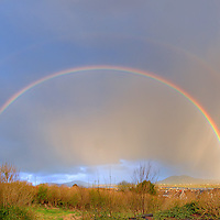 Double Rainbow over Cahersiveen, Co. Kerry / rb008