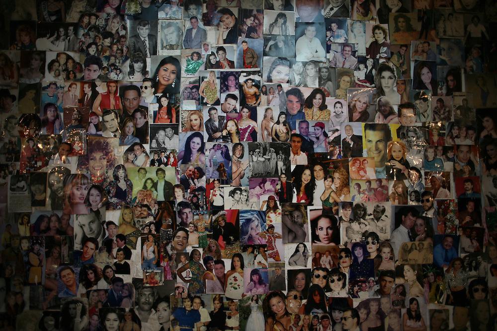 Detalle de los salones de maquillaje del canal de television Venevision. Caracas, 18-03-09 (ivan gonzalez)