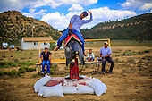 Bullriding Class on the Navajo Nation