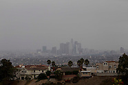 The first rainstorm of the fall in Los Angeles 2013