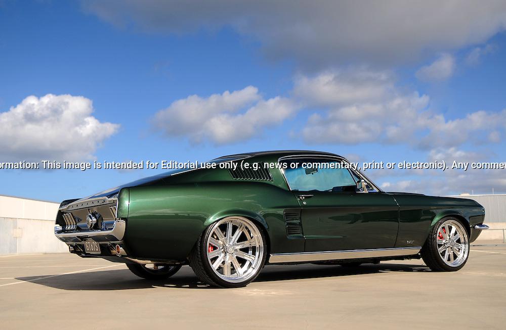 1967 Ford Mustang GT Fastback - Dark Moss Green | Joel ...