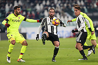 can - 08.01.2017 - Torino - Serie A 2016/17 - 19a giornata  -  Juventus-Bologna nella  foto: Gonzalo Higuain