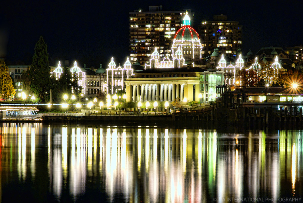 British Columbia Parliament Buildings, Victoria Harbour