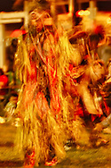 Crow Fair powwow, Crow Indian Reservation, Montana, blurred motion