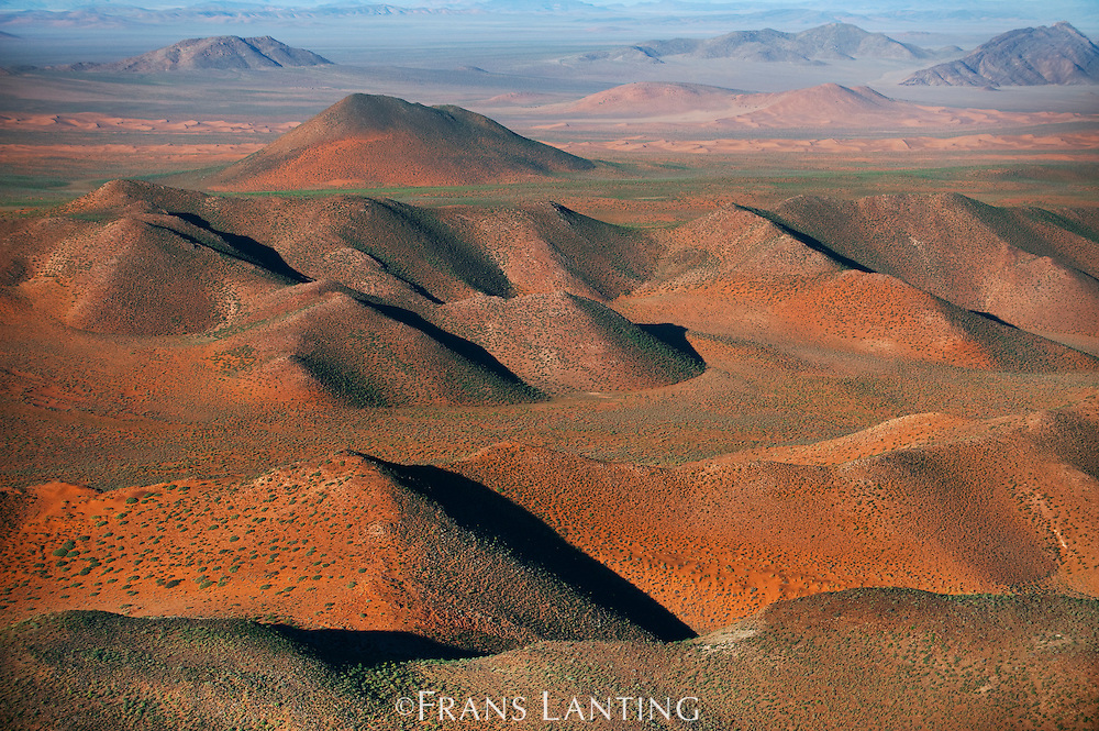 Klinghardt Mountains (aerial), Sperrgebiet National Park, Namibia