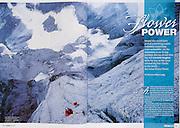 Spread, Climber magazine