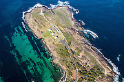 Cape Leeuwin .is situated at the most south westerly tip of Australia, standing at the point where the Indian and Southern Oceans meet - 8 kilometres west of Augusta.