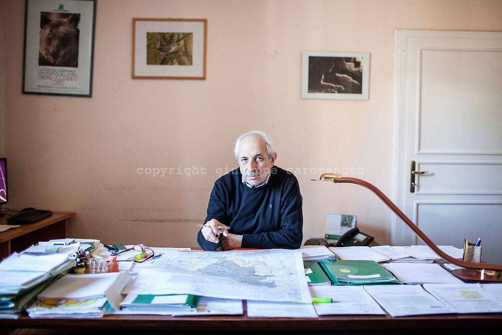 15 February 2017, Pescasseroli, AQ Italy - Dario Febbo, Director of the National Park of Abruzzo.