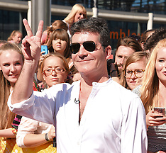 19 JULY 2015 XFactor Photocall