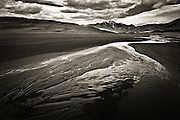 Spring runoff in Medano Creek. Great Sand Dunes National Park & Preserve in the San Luis Valley of Colorado.