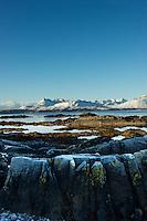 Black Cuillins from Tokavaig, Isle of Syke, Scotland.