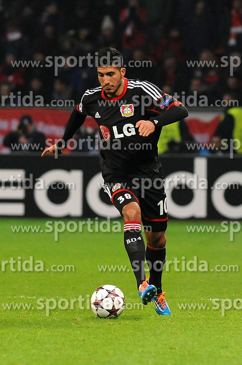 27.11.2013, BayArena, Leverkusen, GER, UEFA CL, Bayer Leverkusen vs Manchester United, Gruppe A, im Bild Emre Can ( Bayer 04 Leverkusen / Freisteller ) // during UEFA Champions League group A match between Bayer Leverkusen vs Manchester United at the BayArena in Leverkusen, Germany on 2013/11/28. EXPA Pictures &copy; 2013, PhotoCredit: EXPA/ Eibner-Pressefoto/ Thienel<br /> <br /> *****ATTENTION - OUT of GER*****