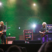 MANCHESTER, TN - JUNE 12:  Trey Anastasio and Mike Gordon of Phish performs at the 2009 Bonnaroo Music and Arts Festival on June 12, 2009 in Manchester, Tennessee. Photo by Bryan Rinnert/3Sight Photography