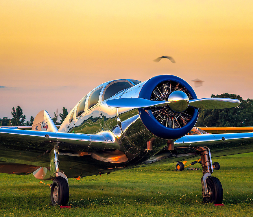 A Spartan Executive, photographed during AirVenture 2015 in Oshkosh, Wisconsin.