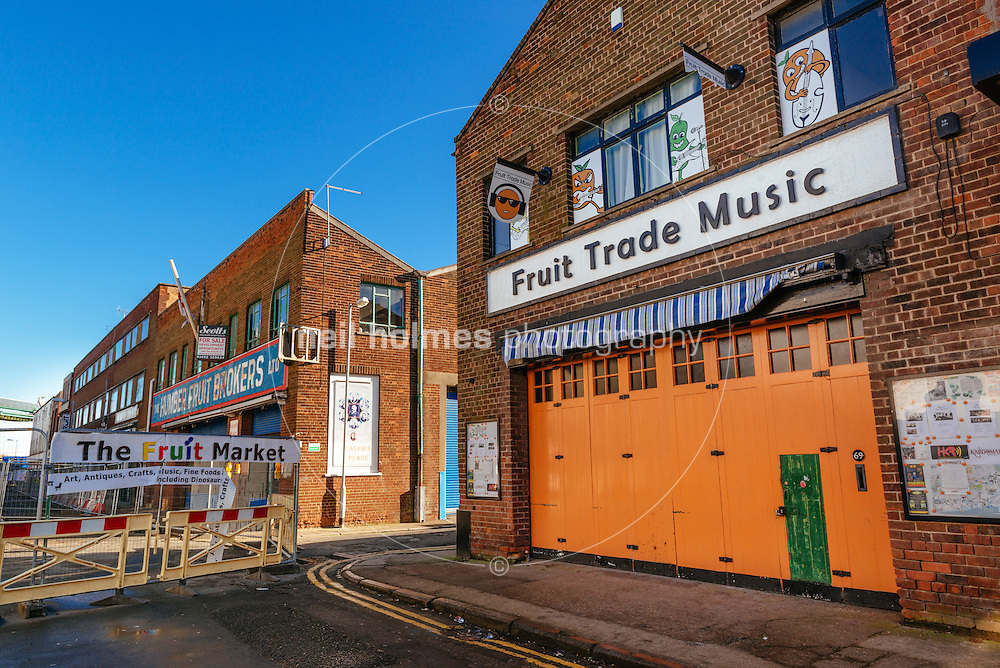 Humber Street, Kingston Upon Hull, East Yorkshire, United Kingdom, 09 February, 2015.