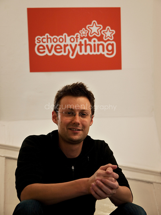 Paul Miller, Founder and Director of School of Everything, London...OLYMPUS DIGITAL CAMERA