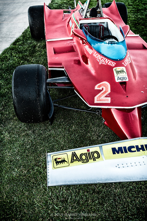 1980 Ferrari 312 T5 Formula One, at the 2012 Santa Fe Concorso