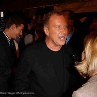 Backstage at Michael Kors -  during Mercede's Benz Fashion Week Spring 2010 on September 13, 2009. ..