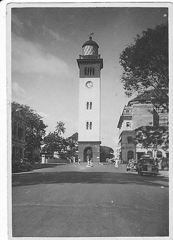 Former lighthouse, Old Fort Colombo.<br /> Photographs taken by William Lyons whilst in Ceylon 1943/44.