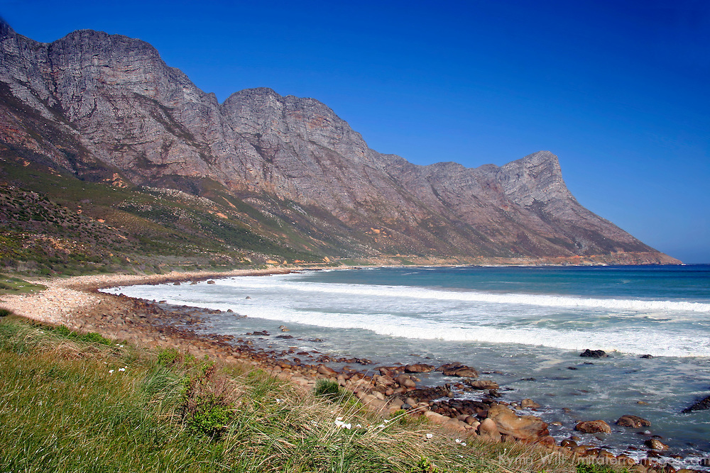 Africa, South Africa. Cape Peninsula Landscape.
