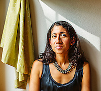 FAYETTEVILLE, AR; OCTOBER 8: Photography of Padma Viswanathan at her home in Fayetteville, Arkansas<br /> <br /> Photography by Wesley Hitt <br /> www.hittphotography.com