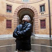 Ferrara, Italy, October 6, 2013. Daniele Gaglianone, Italian filmmaker.