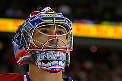 Jan 21, 2008; Newark, NJ, USA; Montreal Canadiens goalie Carey Price (31) during the second period of their game against the New Jersey Devils at the Prudential Center.