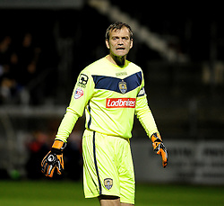 Roy Carroll of Notts County - Mandatory byline: Neil Brookman/JMP - 07966 386802 - 20/10/2015 - FOOTBALL - Memorial Stadium - Bristol, England - Bristol Rovers v Notts County - Sky Bet League Two