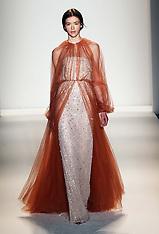 FEB 12 2013 Jenny Packham show at New York Fashion Week A/W 2013