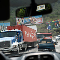 Route CA 9, Guatemala 20 May 2008<br /> Traffic in Guatemala. Road CA 9 connecting Guatemala City with the Atlantic coast.<br /> Photo: Ezequiel Scagnetti