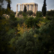 The Temple of Olympian Zeus. Construction began in the 6th century BC during the rule of the Athenian tyrants. It stands strong after going through countless attacks. Image © Angelos Giotopoulos/Falcon Photo Agency