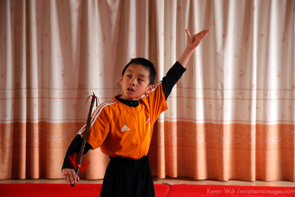 Asia, China, Shanghai. The Children's Palace, where Chinese youth study the traditional and cultural arts.