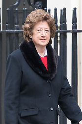 Downing Street, London, March 8th 2016. Minister of State for Foreign and Commonwealth Affairs Baroness Joyce Anelay arrives for the weekly UK cabinet meeting at Downing Street. &copy;Paul Davey<br /> FOR LICENCING CONTACT: Paul Davey +44 (0) 7966 016 296 paul@pauldaveycreative.co.uk