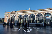 Rome, Vatican Museums, at the entrance of the Pinacoteca
