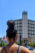 FOCSA building, Havana Vedado, Cuba.