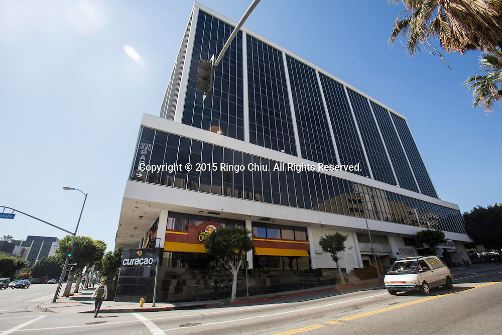 Curacao headquarters and flagship store in downtown Los Angeles.<br /> Photo by Ringo Chiu/PHOTOFORMULA.com)
