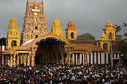 With a ceasefire in place between the LTTE and the Sri Lankan governemnt, the annual chairot festival at Nallur Temple was attended by many thousands this year...2004