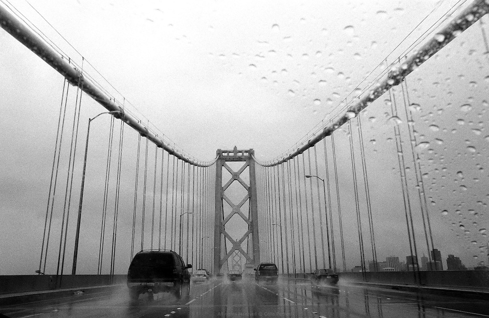 Bay Bridge toward San Francisco