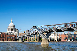 Millenium Bridge in London United Kingdom