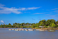 Boats in the Jamal area, Guantanamo, Cuba.