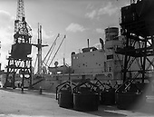 1958 - Docks strike: Dublin Port and Alexandra Basin Dock Strike